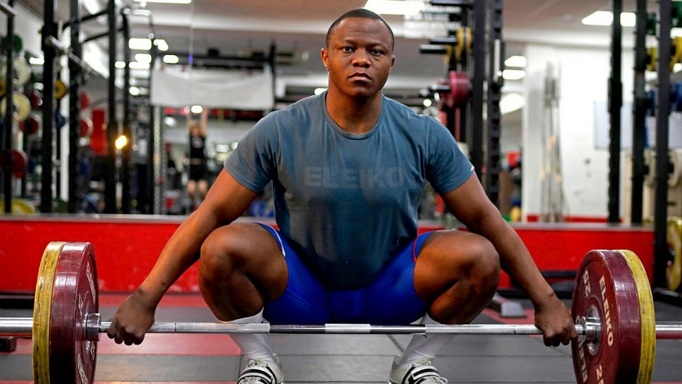 The refugee weightlifter giving back as mental health nurse
