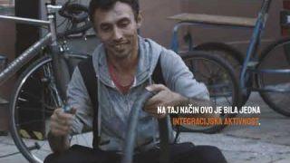 Biciklopopravljaona - dobar primjer integracije u Zagrebu #integracijaSAD